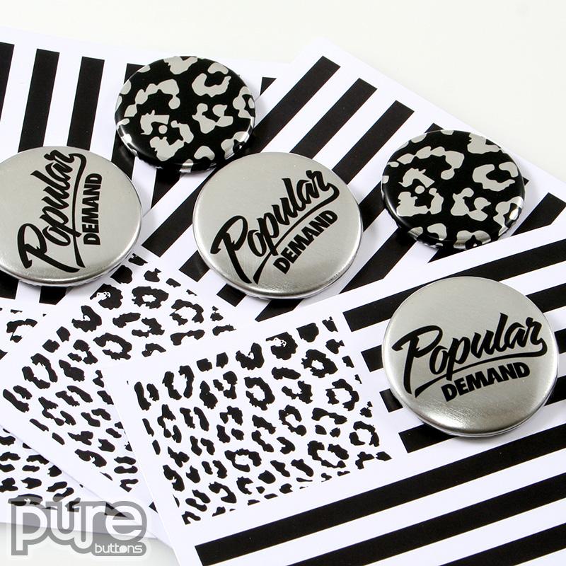 Popular Demand Metallic Button Pack